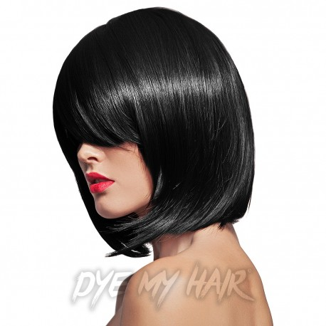 Semi permanent hair color on black hair