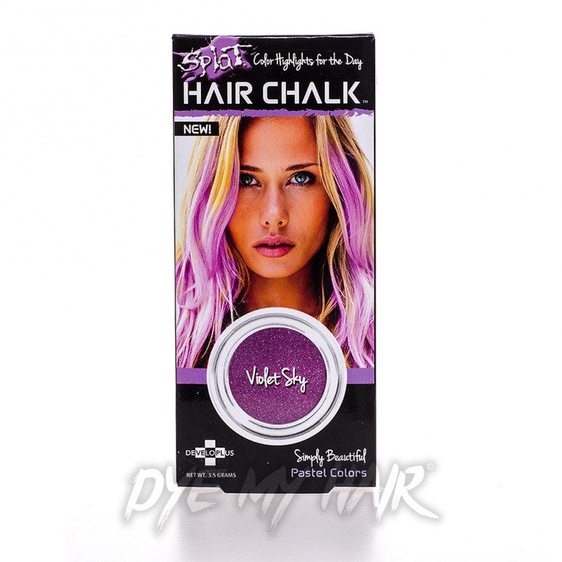Splat Violet Sky Temporary Hair Chalk Best Purple Color Product