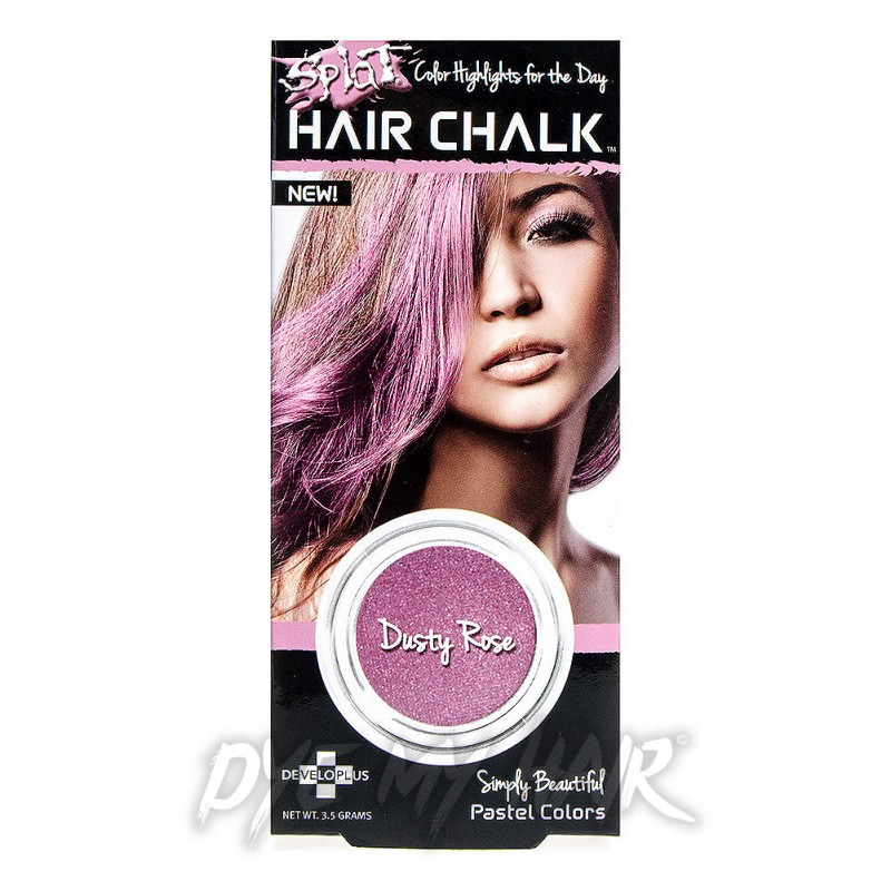 Splat Dusty Rose Hair Chalk Pastel Pink Instant Temporary Color