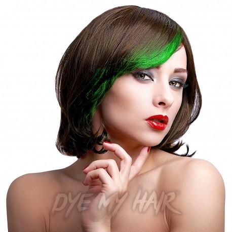 Stargazer Green Neon Hair Chalk Temporary Lime Color Highlights