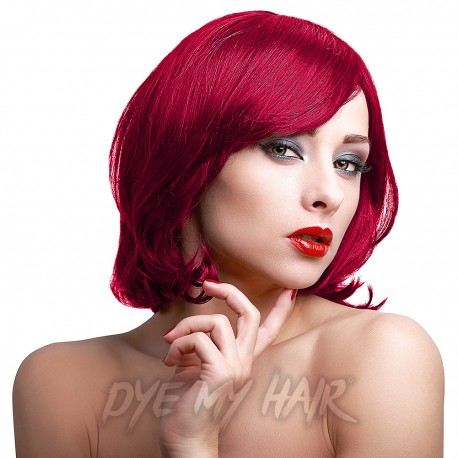 Stargazer Hot Red Semi Permanent Hair Dye, Temporary Rich Red Color