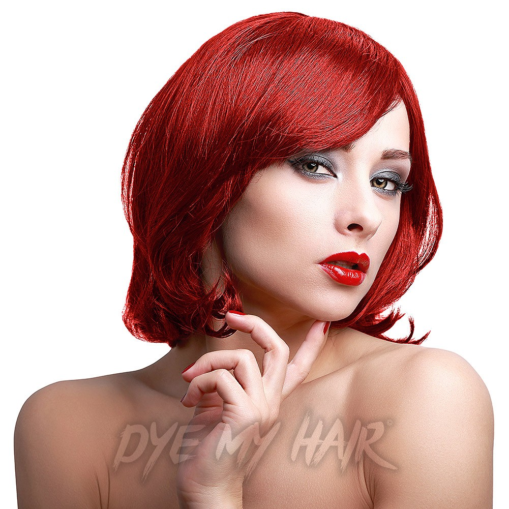 Stargazer Rouge Red Hair Dye Bright Fire Semi Permanent Hair Color