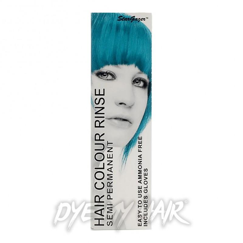 stargazer turquoise uv semi permanent hair dye light uv