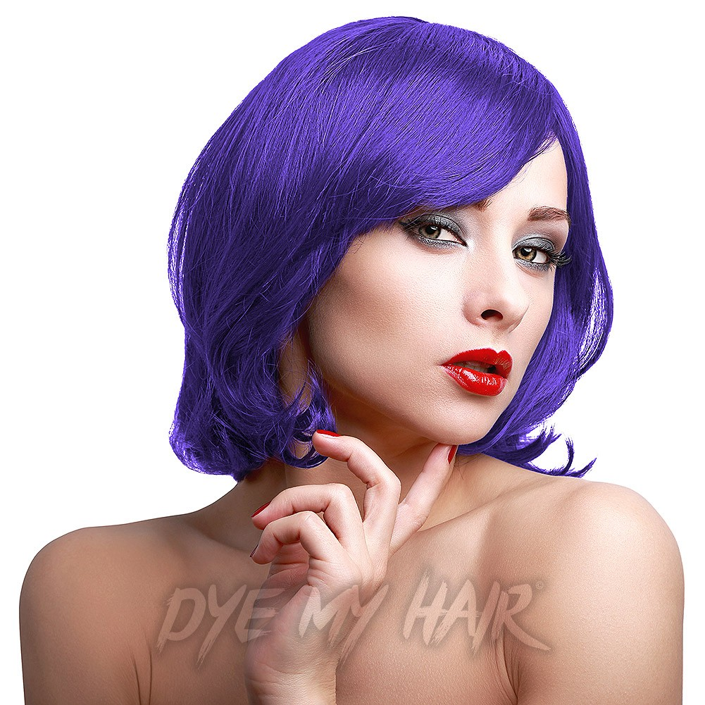 Stargazer Violet Hair Dye Semi Permanent Bright Purple Hair Color