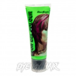 Stargazer Green UV Hair Colour Gel (50ml)