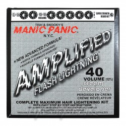 Manic Panic Flash Amplified Kit de Aclarado Capilar (Volumen 40)