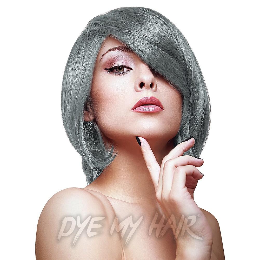 Hermans Amazing Gilda Granny Grey Semi Permanent Hair Dye Silver