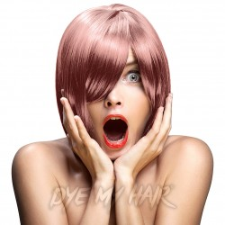 Crazy Color Rose Gold Semi-Permanent Hair Dye (100ml)