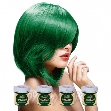 La Riche Directions Pack De 4 Colorations Semi Permanentes  (Apple Green)