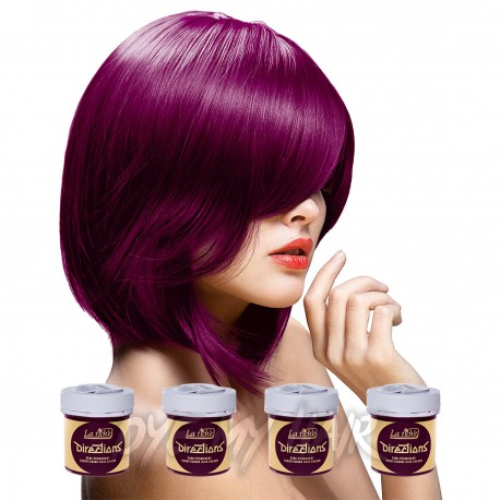 La Riche Directions Pack De 4 Colorations Semi-Permanentes (Dark Tulip)