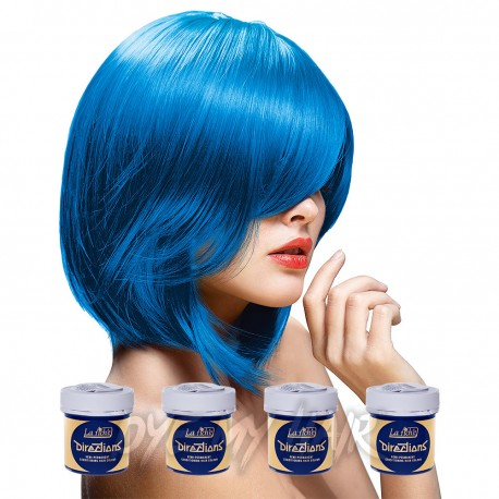La Riche Directions Lagoon Blue Semi-Permanent Hair Dye (4 x 88ml)