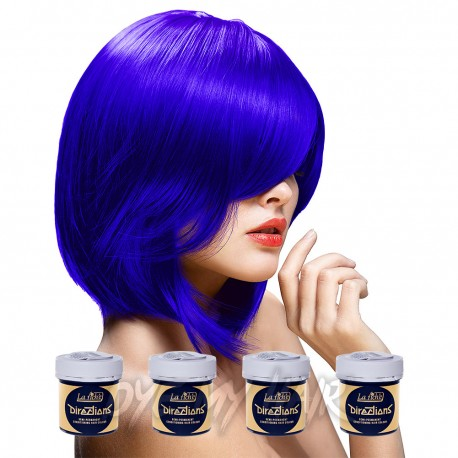 La Riche Directions Neon Blue Semi-Permanent Hair Dye (4 x 88ml)