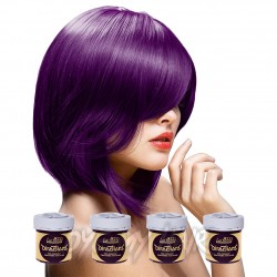 La Riche Directions Plum Purple Semi-Permanent Hair Dye (4 x 88ml)