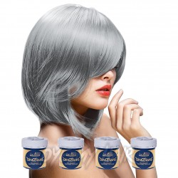 La Riche Directions Silver Semi-Permanent Hair Dye (4 x 88ml)