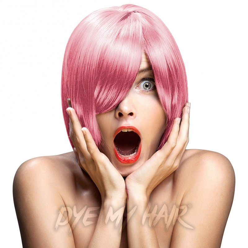 Crazy Color Candy Floss Pink Semi Permanent Hair Dye 4 X