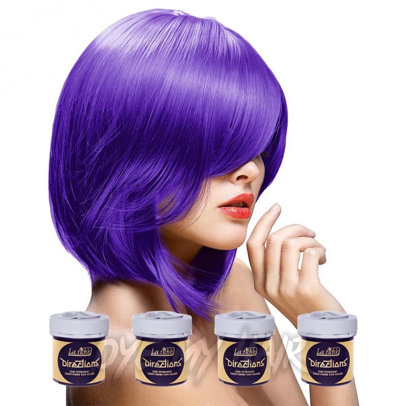La Riche Directions Violet Semi Permanent Hair Dye 4 X 88ml