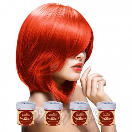 Directions Tangerine Semi Permanent Hair Dye, La Riche ...