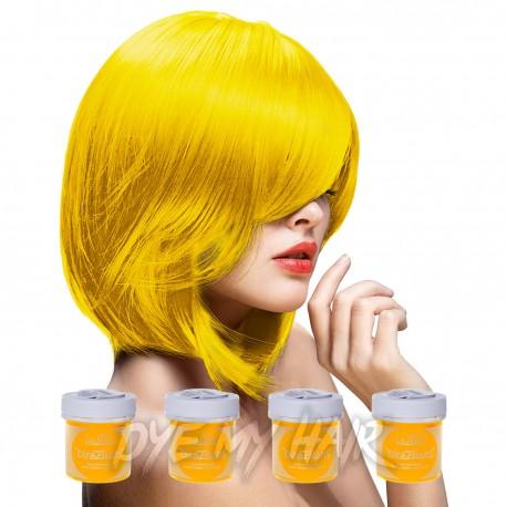La Riche Directions Bright Daffodil Semi-Permanent Hair Dye (4 x 88ml)