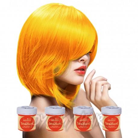 Directions Apricot Semi Permanent Hair Dye La Riche Orange Color