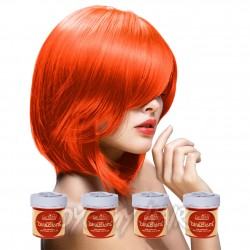 Pacco Da 4 Tinture Colorate Per Capelli La Riche Directions Arancione - Mandarin (4 x 88ml)