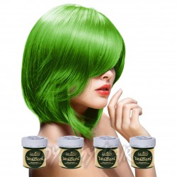 Pacco Da 4 Tinture Colorate Per Capelli La Riche Directions Verde - Spring Green (4 x 88ml)