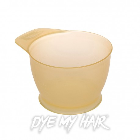 Hair Dye Mixing Bowl (Yellow)