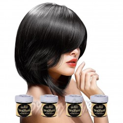 La Riche Directions Colour Hair Dye 4 Pack 88ml (Ebony)