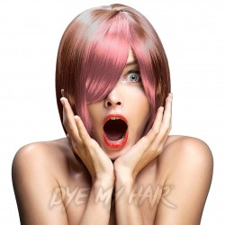 Crazy Color Temporary Pastel Hair Spray 250ml (Peachy Coral)