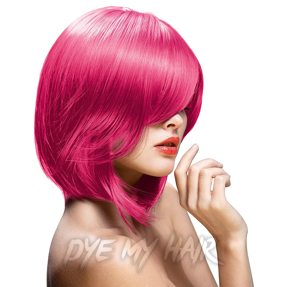 Hot Pink Hair Dye Bright Semi Permanent Colour Best Pastel Shades