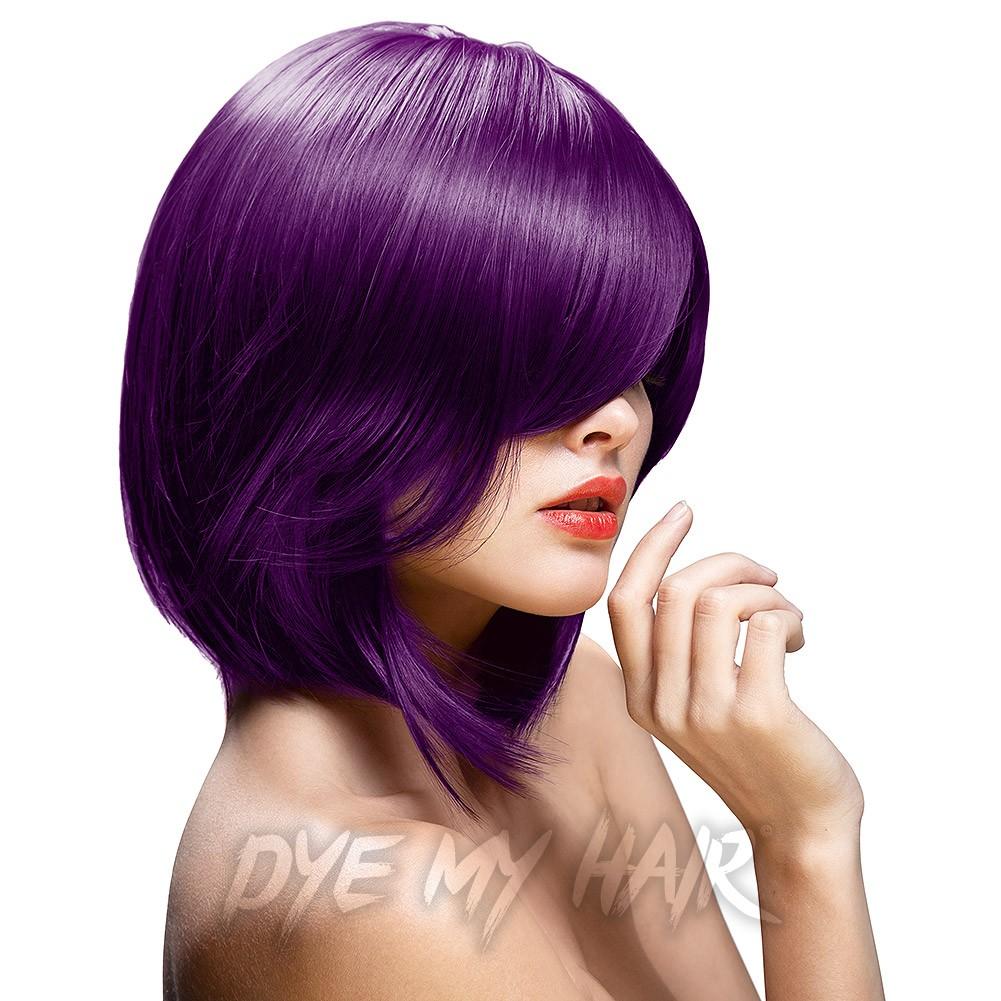 Purple Hair Dye Semi Permanent Violet Hair Colors Aubergine Dye