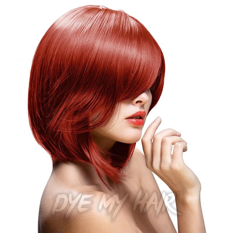 Directions Flame Red Semi Permanent Hair Dye La Riche Fire Color