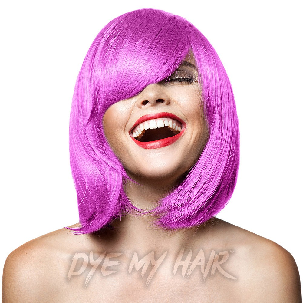 Hot Pink Hair Dye Bright Semi Permanent Color Best Pastel Shades
