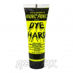 Manic Panic Dye Hard Temporary Hair Colour Styling Gels (Electric Banana)