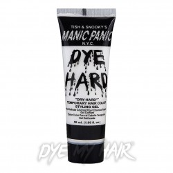 Manic Panic Dye Hard Temporary Hair Colour Styling Gels (Virgin White)