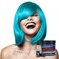 Manic Panic Turquoise High Voltage Hair Dye &  Lipstick Gift Set Kit (1 x 118ml)