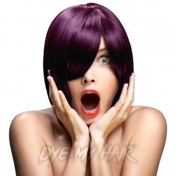 Crazy Color Aubergine Semi-Permanent Hair Dye (100ml)