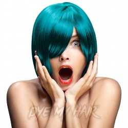 Crazy Color Semi-Permanent Hair Dye (Blue Jade)