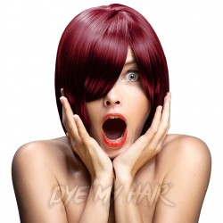 Crazy Color Semi-Permanent Hair Dye (Bordeaux Red)