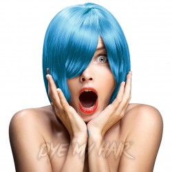 Crazy Color Semi-Permanent Hair Dye (Bubblegum Blue)