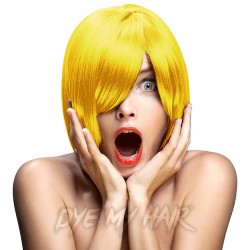 Crazy Color Semi-Permanent Hair Dye (Canary Yellow)