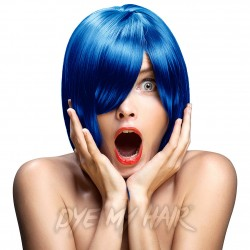 Crazy Color Semi-Permanent Hair Dye (Capri Blue)