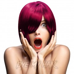 Crazy Color Semi-Permanent Hair Dye (Cyclamen Red)