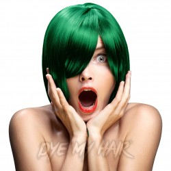 Crazy Color Semi-Permanent Hair Dye (Emerald Green)
