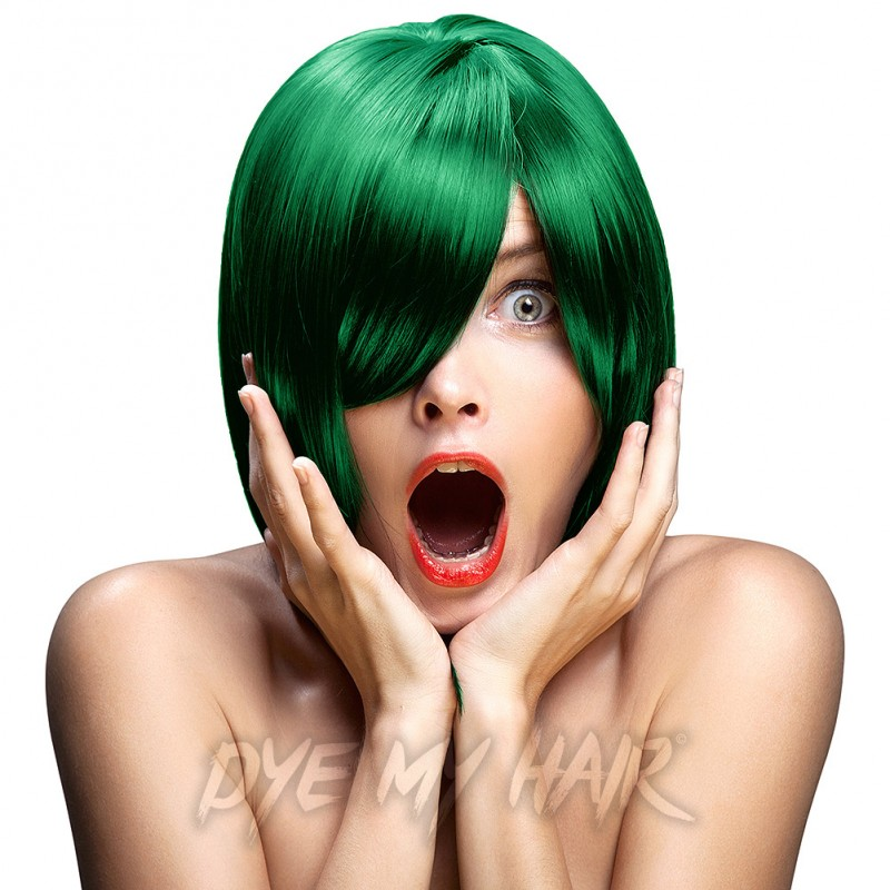 Crazy Color Emerald Green Semi Permanent Hair Dye Best Dark Hair