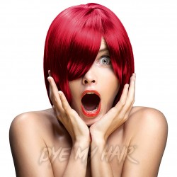 Crazy Color Fire Red Semi-Permanent Hair Dye (100ml)