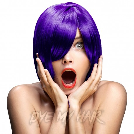 Crazy Color Hot Purple Semi-Permanent Hair Dye (100ml)
