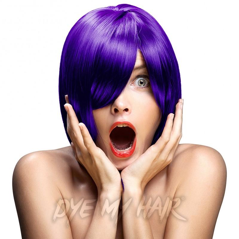 Crazy Color Hot Purple Semi Permanent Hair Dye Temporary Color