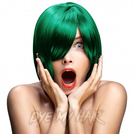 Crazy Color Pine Green Semi-Permanent Hair Dye (100ml)