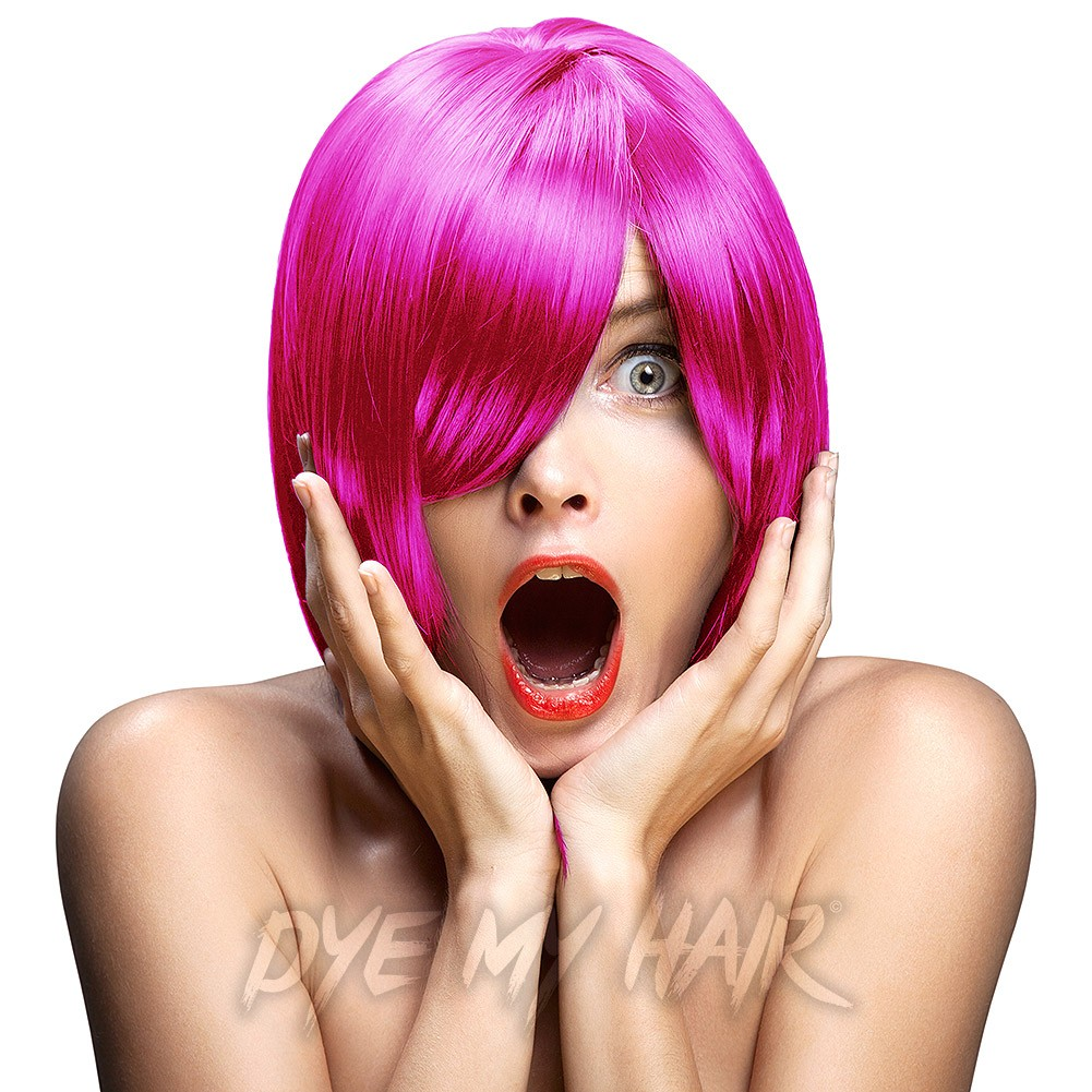 Crazy Color Pinkissimo Semi Permanent Hair Dye Temporary Color