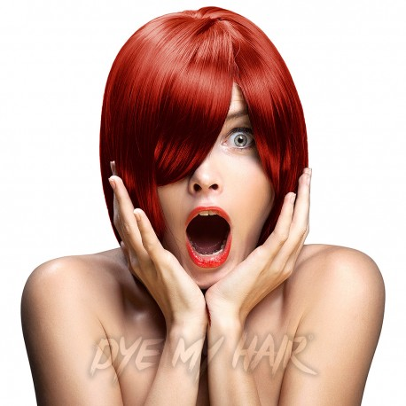 Crazy Color Vermillion Red Semi-Permanent Hair Dye (100ml)